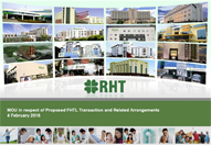 MOU in respect of Proposed FHTL Transaction and Related Arrangements