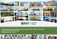 Proposed Disposal of the Entire Asset Portfolio of RHT Health Trust (